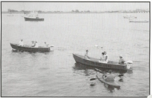 boats on Jamaica Bay from Smitty's Boat Station