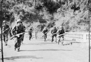 Luzon invasion, Jan. 1945