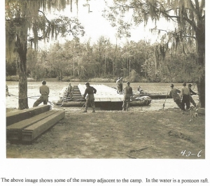 building a pontoon boat in Calcasieu Swamp