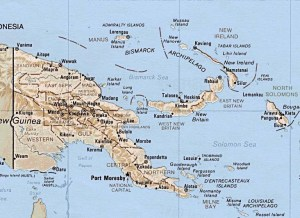 Map - New Guinea