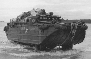 "the 'Duck"", a DUKW"