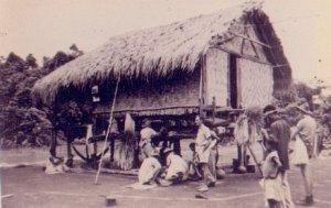 native hut in New Guinea