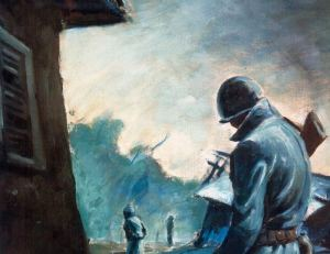 Guard Duty - painting from history.army.mil