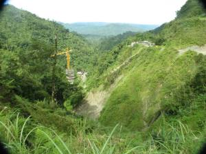 A modern view of Leyte's mountains and jungles