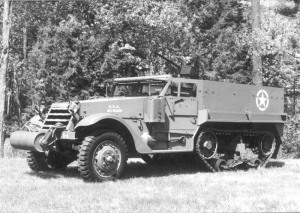 half-track vehicle