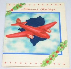 '40's Christmas card