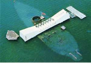 USS Arizona Memorial, Pear Harbor, Hawaii