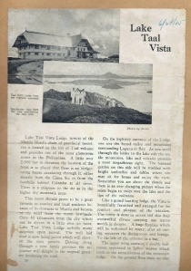 Lake Taal, from Everett's scrapbook