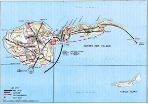 re-capture map, Corregidor