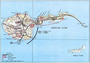 re-capture map, Corregidor