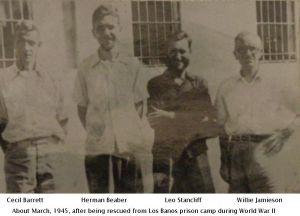 CECIL BARRETT, HERMAN BEABER, LEO STANCLIFF & WILLIE JAMIESON