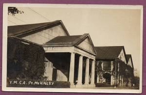 Both photos - Prewar postcards, Ft. McKinley
