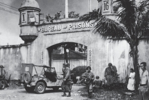 the old Bilibid Prison 1945