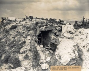 Machine gun hideout
