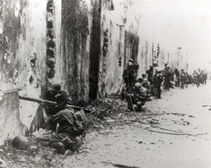 Infantry in Manila