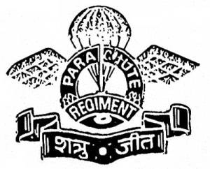 Indian Parachute Regiment insignia