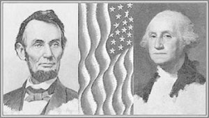 Old President's Day banner