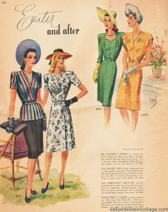 1940's Easter fashion