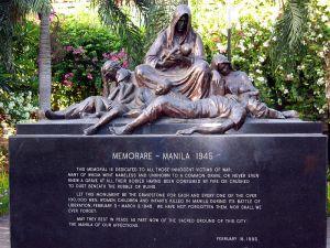Memorial in Manila