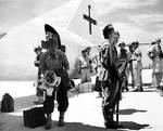 Gen. Kanabe & Japanese delegation on Io Jima