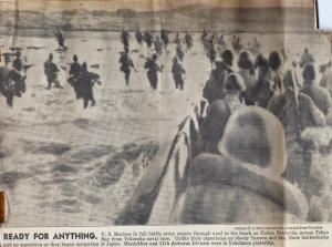 Marines land in Japan