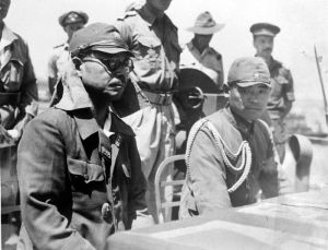Kaida Tatsuichi, 4th Tank Regiment & Shoji Minoru on HMAS Moresby at Timor