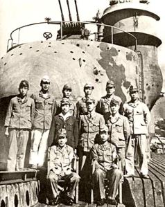 USS Segundo SS-398 located this Japanese sub 1-401 and negotiated with the crew being that their captain had committed suicide