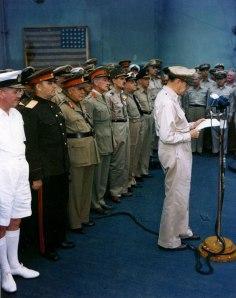 General Douglas MacArthur - USS Missouri