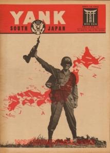 Yank magazine Sept. 1945 (notice the helmet stenciling)
