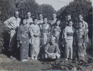 Occupation 1945 - Everett Smith on far right