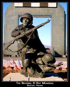 D-Day memorial, Beford, VA