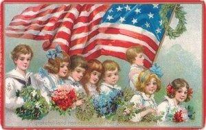 flag day vintage