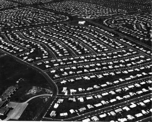 """Cookie-cutter"" housing development, Levittown, PA"