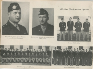 Division HQ's Officers