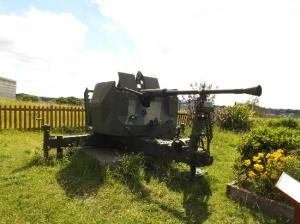 Gun at Fort Amburst