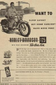 The latest in Harley-Davidson 'hogs'