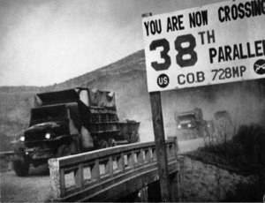 Crossing the 38th Parallel