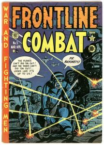 Harvey Kurtzman comic books  - Frontline Combat & Two-Fisted Tales were so well researched that the soldiers enjoyed them as much as the home front