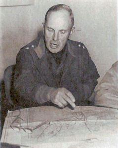 Gen. Almond in Korea