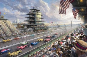 Thomas Kinkade's tribute to Indianapolis Speedway