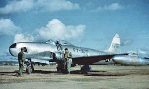 RF-80A  Shooting Star, Korea