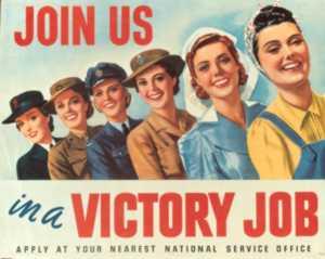 Australian women's poster