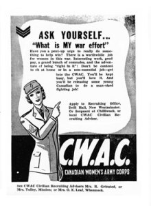 Canadian 1943 poster