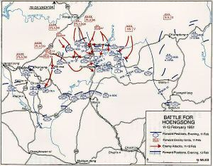 Hoengsong Map