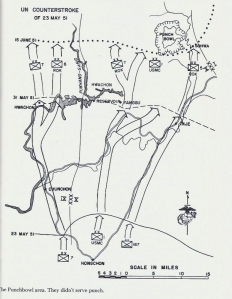 Punchbowl, map from 23 May 1951