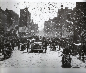 MacArthur's parade, NYC 20 April 1951