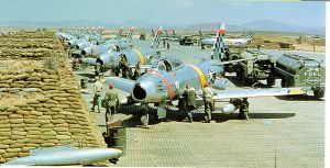 F-86 aircraft in Korea