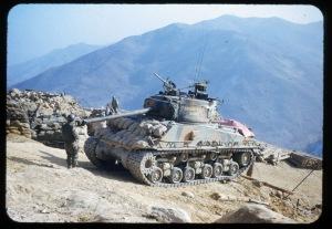 """Sherman tank, """"Old Baldy"""""""