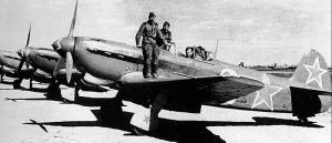 Soviet-made Yak-9