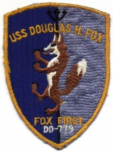 Douglas H. Fox, DD779 patch